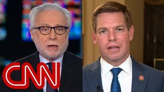 Blitzer presses Swalwell on past comments about collusion - CNN