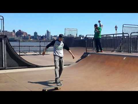 Hoboken Skate Park a closer look with Lonnie Milles