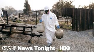 What The Deadly Wildfires Raging Across California Left Behind (HBO) - VICENEWS