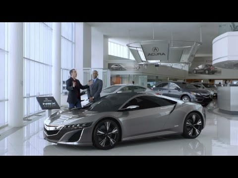 Acura NSX 2012  - Transactions Extended Version - Super Bowl Ad