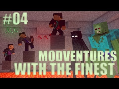 Minecraft: Modventure with the Finest - Ep. 4 - House Preparation!