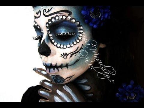 Niia Hall Maquillage #SANTA MUERTE
