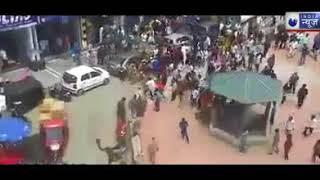Ahmedabad: सत्तर रुपये के चक्कर मे मारामारी  , तस्वीरे सी सी टी वी में कैद - ITVNEWSINDIA