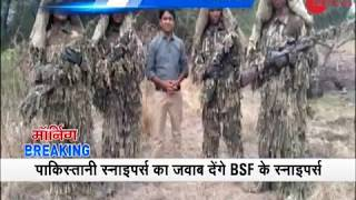 Morning Breaking: BSF snipers to be deployed at LoC in Jammu and Kashmir - ZEENEWS