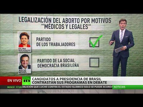 """""""El plan de Neves significaría un atraso para Brasil"""""""