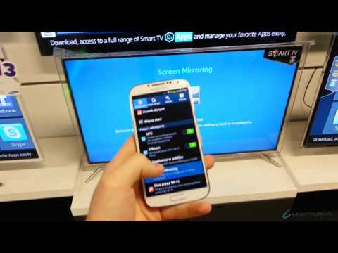 Samsung Galaxy S4 Screen Mirroring (AllShare Cast) pl