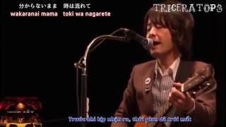 [VIETSUB][LIVE] Oda Kazumasa ft. TRICERATOPS - Love Story wa Totsuzen ni (12-Bar-13)