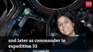 Birthday special: 'Spacewalker' Sunita Williams turns 53, to embark on her third space journey soon - TIMESOFINDIACHANNEL