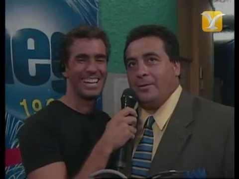 Backstage Dino Gordillo