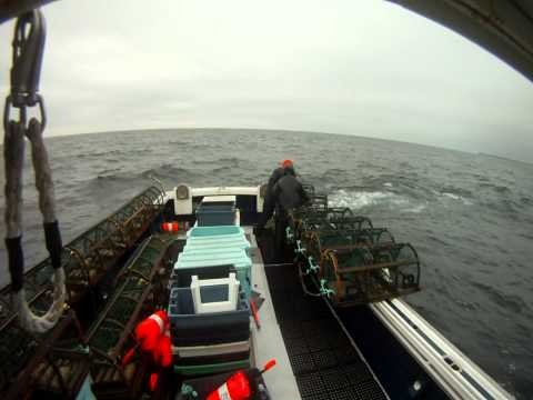 Lobster Fishing off East Point PEI
