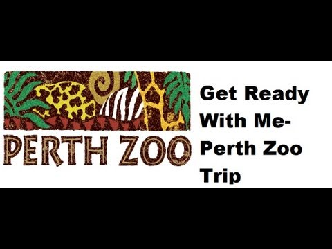Get Ready With Me-Perth Zoo Trip