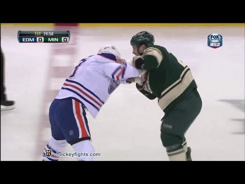 Mike Brown vs Zenon Konopka Apr 26, 2013