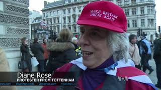British Protesters Demand Vote On Brexit Deal - VOAVIDEO