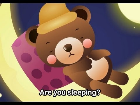 Are You Sleeping?   | nursery rhymes &amp; children songs with lyrics | muffin songs