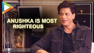 Shah Rukh Khan on Anushka Sharma completing 10 Years in Bollywood !!! - HUNGAMA