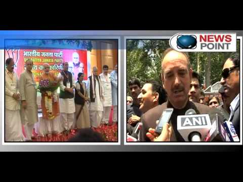 Narendra Modi`s elevation threat to BJP by Ghulam Nabi Azad