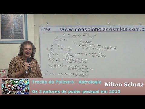 Nilton Schutz - Astrologia - Os 3 Setores de Poder Pessoal em 2015