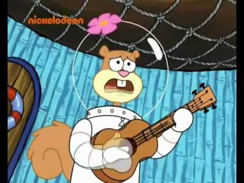 Spongebob Kanciastoporty- Kowbojska Piosenka Sandy