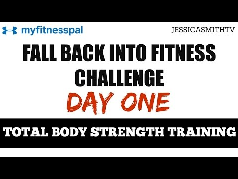 30 Minute Total Body Strength Training Full Workout with Dumbbells for All Levels