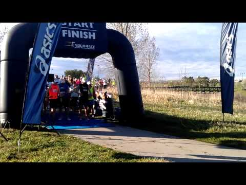 2014 Westminster Trail Half Marathon - Start