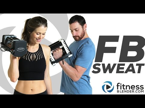 NEW FBSweat: Burn Fat, Build Muscle, Tone || 30 or 50 Minutes a Day: YOU Choose
