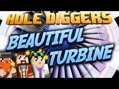 Minecraft - Beautiful Turbine - Hole Diggers 56
