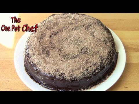 Chocolate Mud Cake - RECIPE