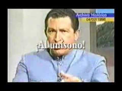 Chavez pidiendo GUARIMBA