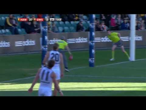 AFL Mark & Goal of the Year - Round 8, 2013