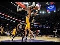Anthony Davis With Two Putback Dunks Against the Lakers