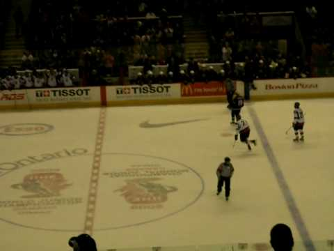Team Slovakia scores against U.S.A @ 2009 World Juniors