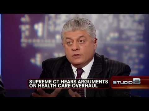 Judge Napolitano Day 2 Analysis of Supreme Court Health Care Debate 2/2