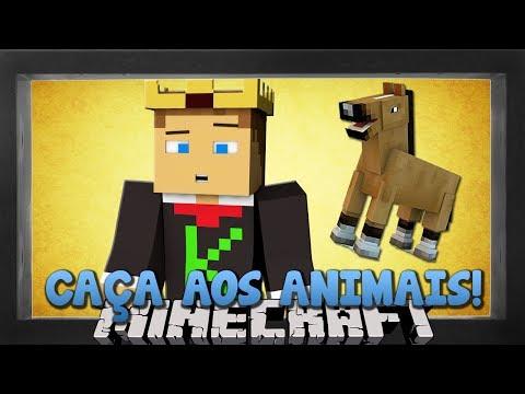 Minecraft: A CAÇA AOS ANIMAIS! (Novo)