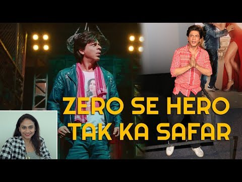 SRK ZERO To HERO | Reel & Real Life Story of Shah Rukh khan