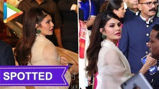 Jacqueline Fernandez looked gorgeous at Isha Ambani- Anand Piramal's grand Wedding Celebrations - HUNGAMA