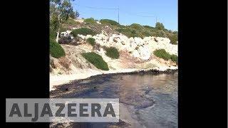 Greek Oil Spill - ALJAZEERAENGLISH