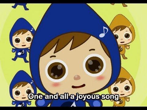 Muffin Songs – Let us sing together  İngilizce Tekerlemeler ve İngilizce Çocuk Şarkılar