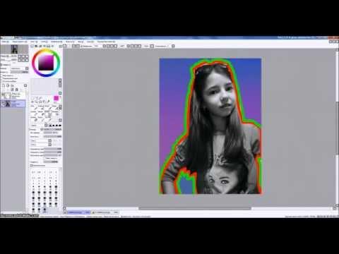Как сделать обводку фотографии в фотошопе