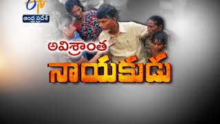 Non Resting Leader : AP CM Chandrababu Working 24 by 7 To Help Cyclone Affected People - ETV2INDIA