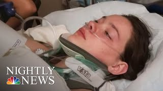 Washington Teen Who Pushed Friend Off Bridge Charged With Reckless Endangerment | NBC Nightly News - NBCNEWS