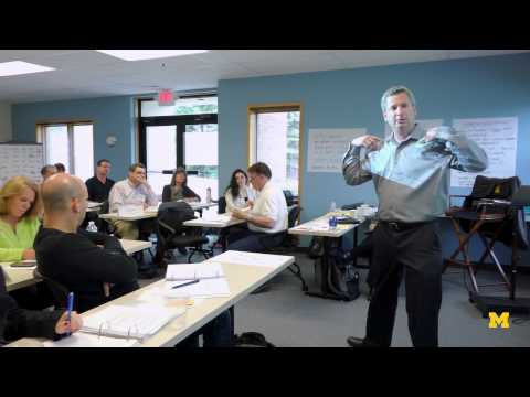 Lean Leadership at the University of Michigan