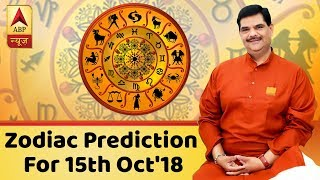 Daily Horoscope With Pawan Sinha: Here's the prediction for 15th October, 2018 - ABPNEWSTV