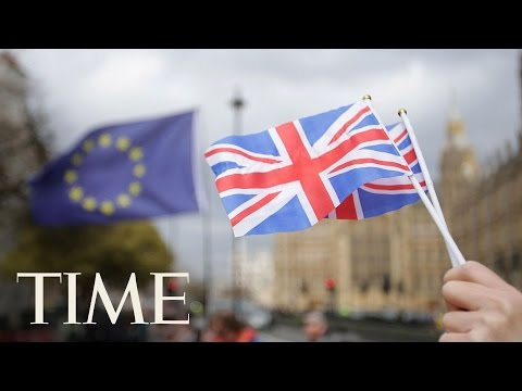 Britain's Prime Minister Theresa May Triggers Article 50, Making 'Brexit' Official | TIME