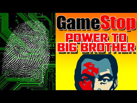 Gamestop Requiring Fingerprints!