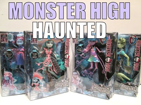 MONSTER HIGH HAUNTED DOLLS HAUL (BRAND NEW)