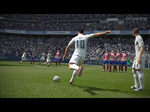 FIFA16 MY BEST FREE KICKS SO FAR (HD) مونتاجات فيفاويه #3