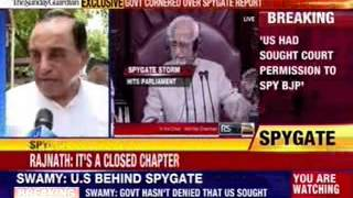 Government cornered over spygate report - NEWSXLIVE