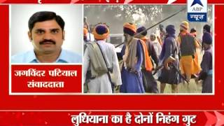 ABP LIVE: Two Sikh groups clash in Amritsar. 1 among the 5 injured in critical condition - ABPNEWSTV