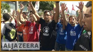 🇻🇪 Rival rallies held in Venezuela as political crisis continues | Al Jazeera English - ALJAZEERAENGLISH