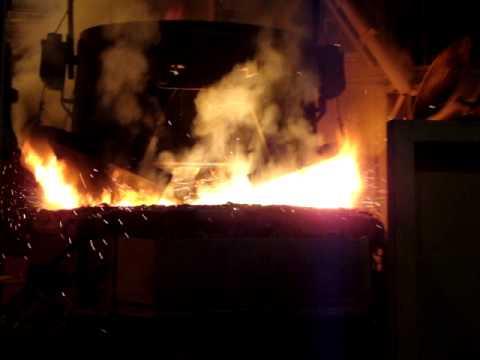 sidor aceria de palanquilla carga de horno1